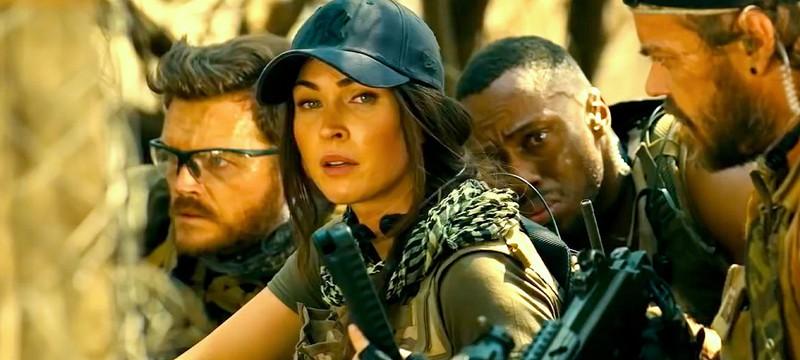 Меган Фокс против боевиков в отрывке из фильма Rogue