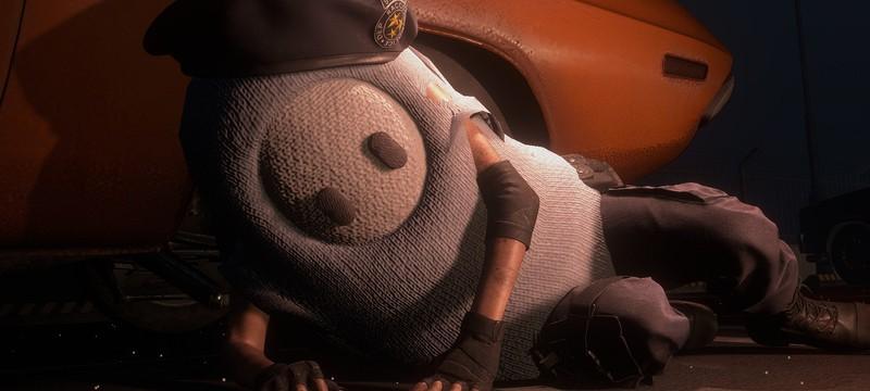 Моддер добавил персонажей из Fall Guys в Resident Evil 3 и Skyrim