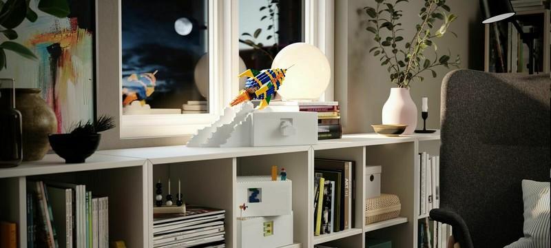 IKEA представила систему хранения LEGO, которую можно использовать как платформу