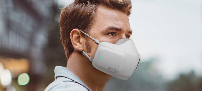 LG показала электронную защитную маску с двумя HEPA-фильтрами