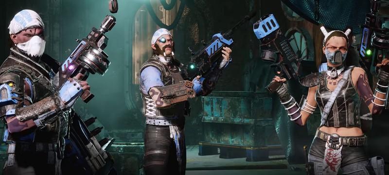 Способности, кастомизация и передвижение в 10-минутном геймплее Necromunda: Underhive Wars