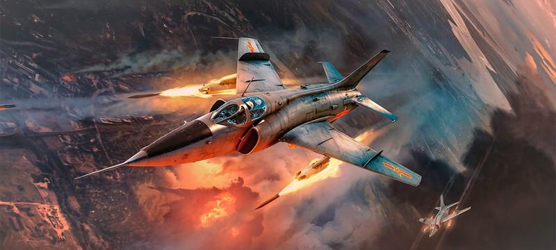 """Для War Thunder вышло огромное обновление """"Огненный дождь"""""""