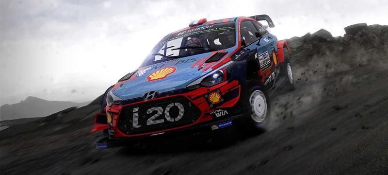 Релизный трейлер раллийного симулятора WRC 9