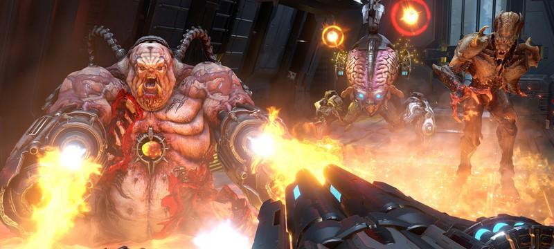 Видео: RTX 3080 минимум на 30% быстрее 2080Ti в Doom Eternal
