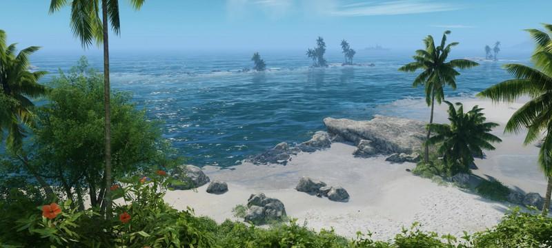 Первый скриншот Crysis Remastered с настройками графики Can it Run Crysis?