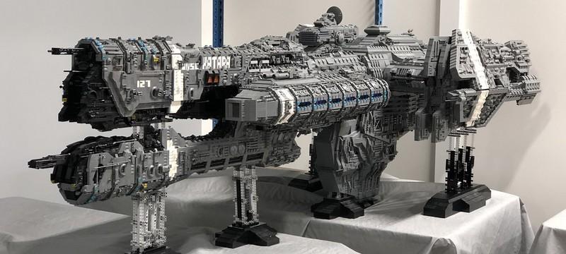 Фанат Halo потратил 5 лет, чтобы собрать копию фрегата UNSC
