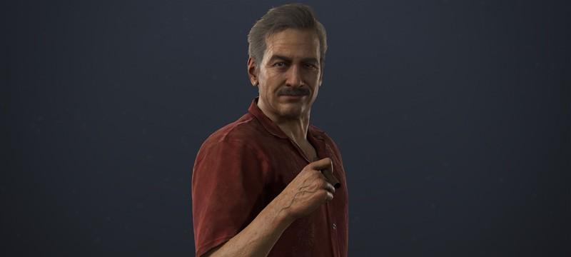 Марк Уолберг в образе Салли на съемках экранизации Uncharted