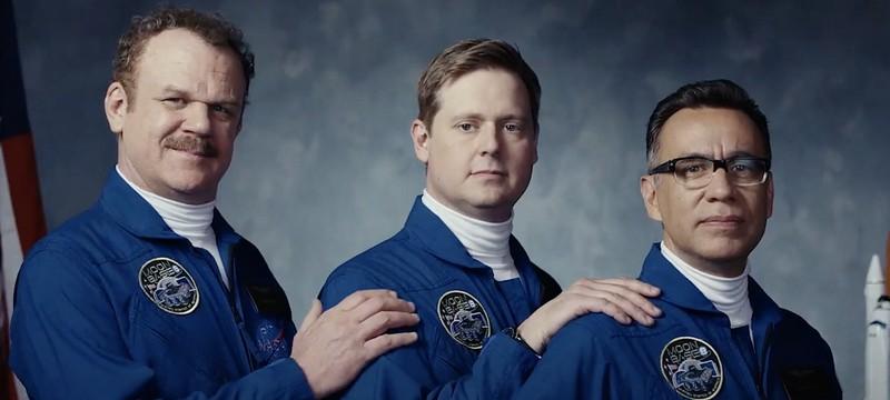 Трейлер сериала Moonbase 8 о трех астронавтах-неудачниках