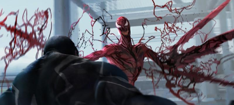 Арт: Как должен был выглядеть бой между Веномом и Карнажем