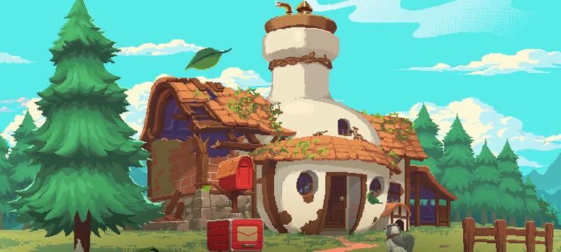 Приключения алхимика с собакой в трейлере пиксельной RPG Potion Permit