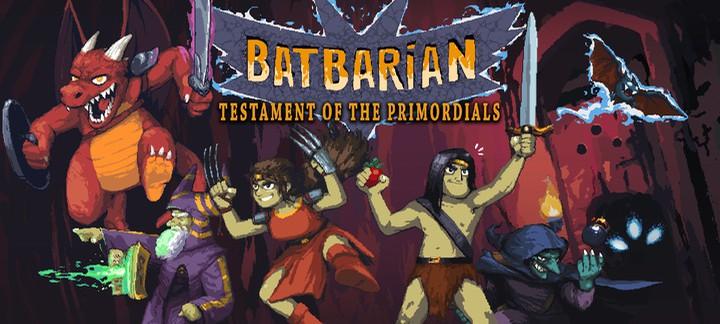 Batbarian: Testament of the Primordials - настоящий олдскул