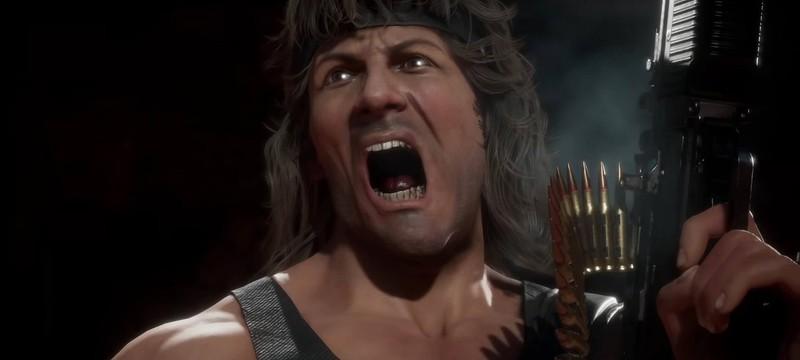 Кишки и очень много крови — геймплей Mortal Kombat 11 за Рэмбо