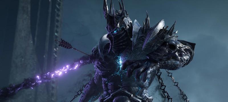 Демонстрация новых регионов из дополнения Shadowlands для World of Warcraft
