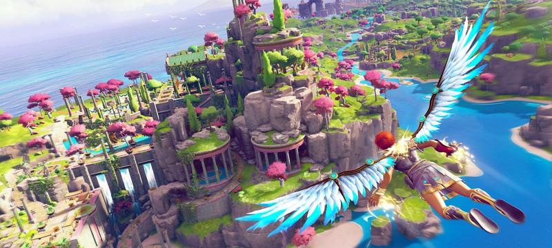Геймплей PS5-версии Immortals Fenyx Rising в 4K