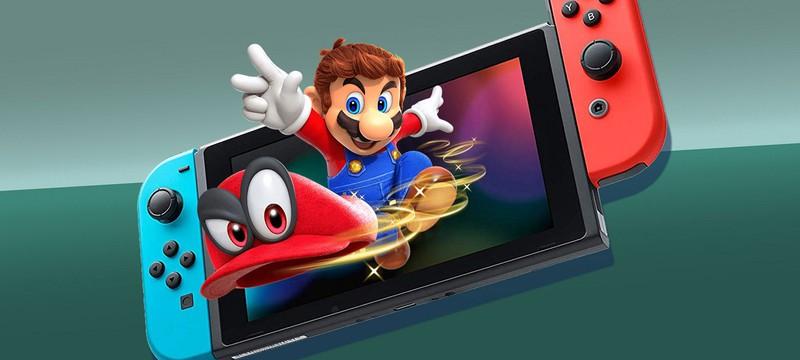 Switch показала лучшие продажи в октябре в США за свою историю