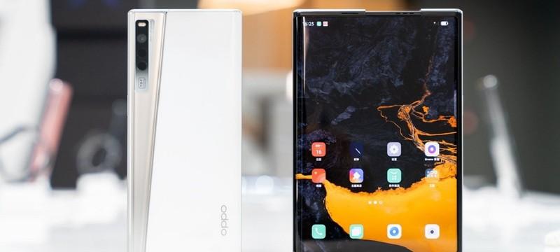 Oppo представила концепт раздвижного смартфона Oppo X 2021