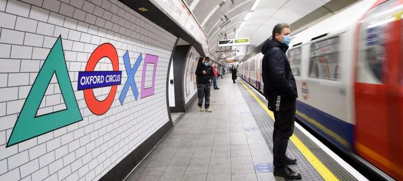 Sony провела ребрендинг лондонского метро в стиле PlayStation