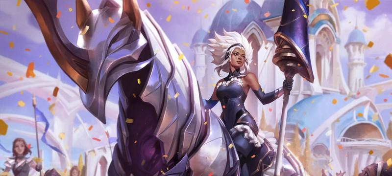 Новый чемпион поддержки League of Legend — Железная дева Релл