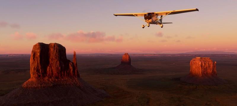 Свежий апдейт Microsoft Flight Simulator улучшил территории США