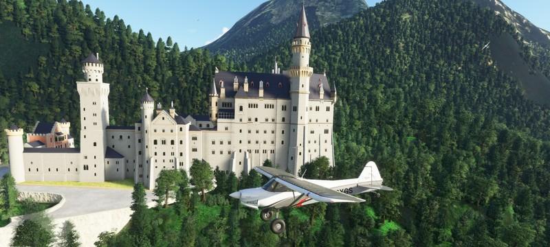 Разработчик летел в Microsoft Flight Simulator параллельно реальному рейсу