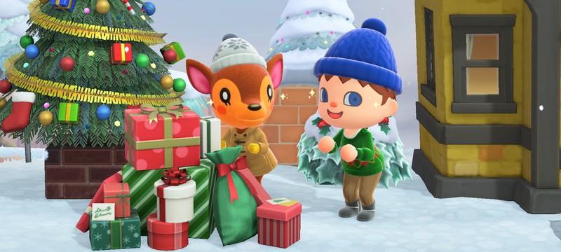 А вот и снег — трейлер декабрьского обновления для Animal Crossing: New Horizons