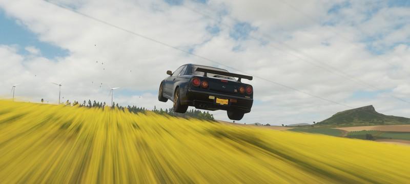 В Forza Horizon 4 добавили редактор трасс с каскадерскими трюками