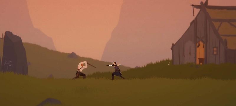 Холодный мрачный мир в стартовом геймплее Unto the End