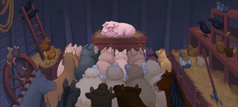 Релизный трейлер адвенчуры Orwell's Animal Farm