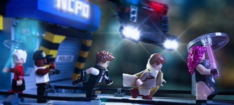 Игрок потратил 3 года на кастомный LEGO-город в стиле Cyberpunk 2077