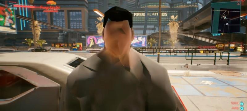 Забавные баги Cyberpunk 2077: спаун полицейских за спиной, полеты и 2D-машины