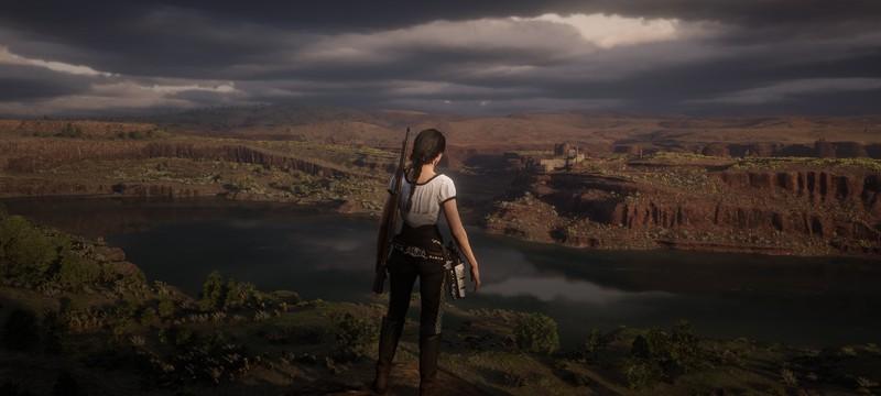Red Dead Redemption 2 — самая популярная игра у виртуальных фотографов