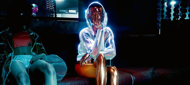 Таймлапс прогулки по Найт-Сити в Cyberpunk 2077
