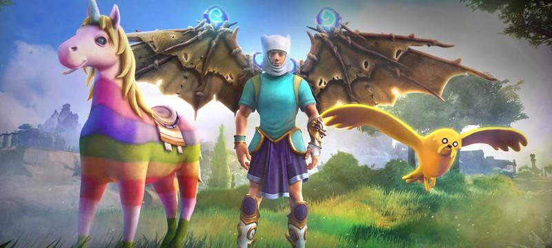 Ubisoft выпустила странный набор предметов для Immortals в стиле Adventure Time