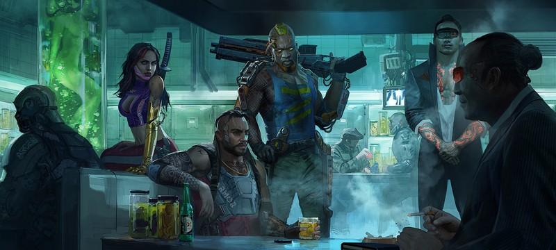 Ранние концепт-арты Cyberpunk 2077