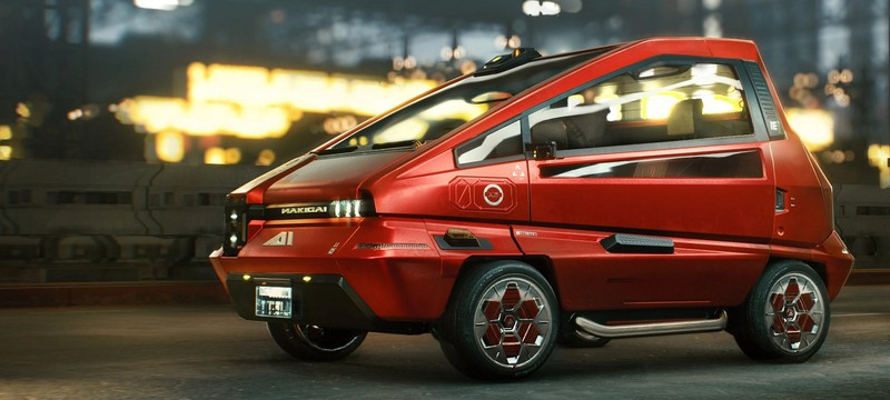 В Cyberpunk 2077 нашли машины, выезжающие из-под воды