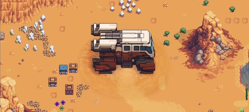 Stardew Valley в космосе — One Lonely Outpost профинансирована на Kickstarter