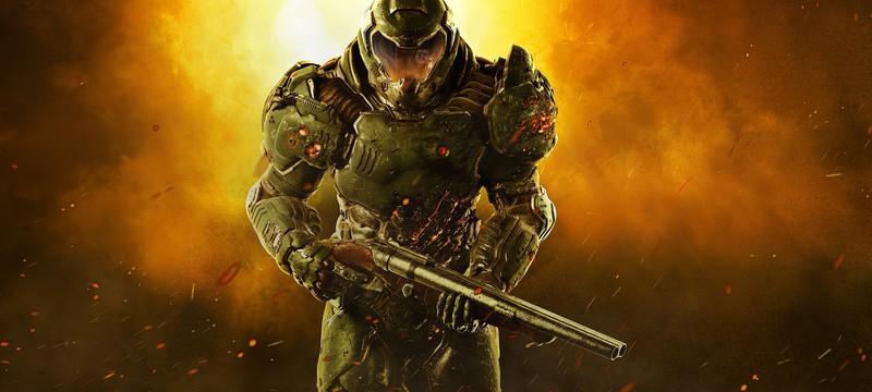 Портальные демоны и зомби в материалах отмененной DOOM в стиле Call of Duty