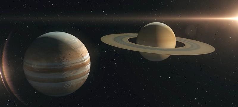 Раз в 400 лет — Юпитер и Сатурн максимально сблизились друг с другом