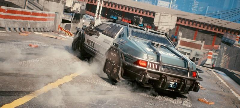 Игроки Cyberpunk 2077 используют баг с появлением полицейских для открытия запертых дверей