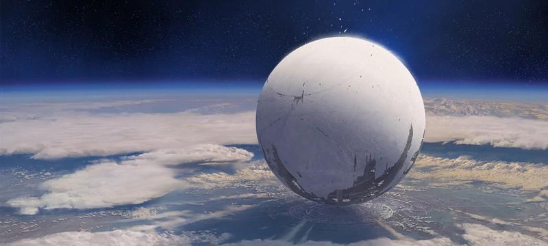 Размер Странника из Destiny 2 сравнили с Землей