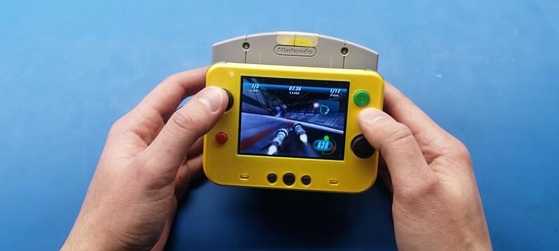 Фанат сделал портативную Nintendo 64 размерами чуть больше картриджа