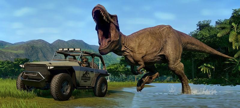 В Epic Games Store стартовала раздача Jurassic World Evolution