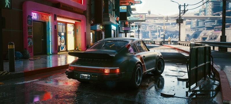 Глитч в Cyberpunk 2077 позволяет бегать быстрее, чем грузятся машины