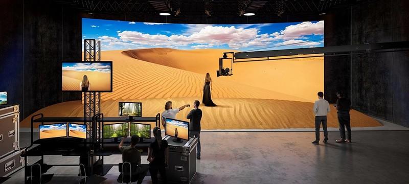Sony представила LED-дисплеи для съемок фильмов без зеленого экрана
