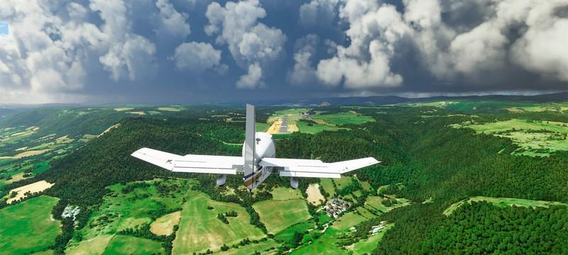 Ютубер сравнил Microsoft Flight Simulator с реальными кадрами