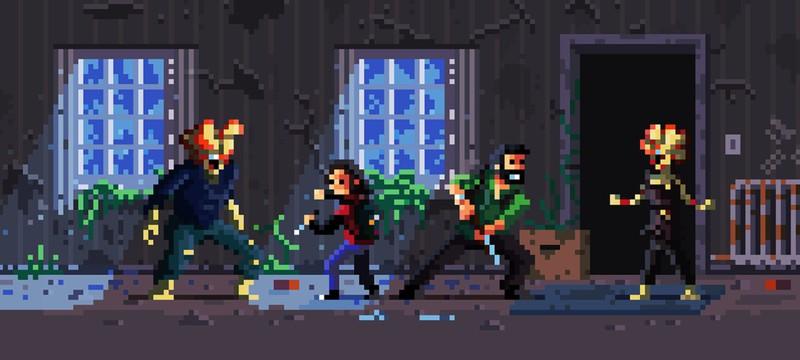 Энтузиаст представил The Last of Us в пиксельном стиле