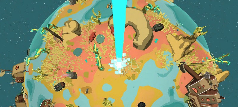 Менеджмент планет и корабля в трейлере космического симулятора Lilith Odyssey