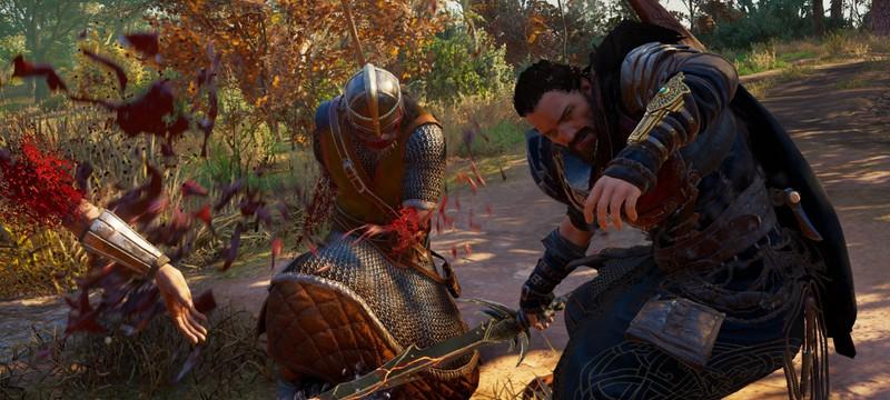 В Assassin's Creed Valhalla нашли секретное оружие c помощью бага