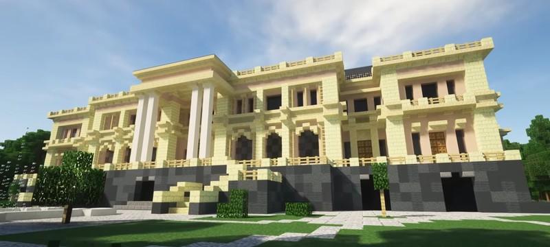 Дворец Путина воссоздали в Minecraft
