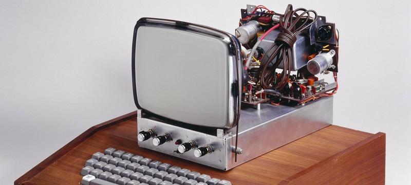 Самый первый компьютер Apple продают за 1.5 миллиона долларов
